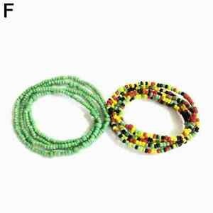 Beaded Waist Beads Body Jewelry Belly Chain African Beads Multiple Colors A6A5