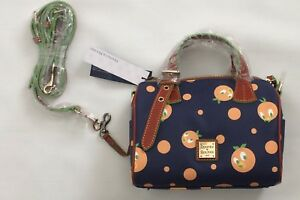 BNWT Disney Parks Dooney & Bourke Orange Bird Kendra Crossbody Satchel Purse Bag