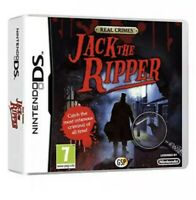 NEW & SEALED JACK THE RIPPER REAL CRIMES NINTENDO DS GAME *BRAND NEW & SEALED*