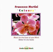 FRANCESCO MARTINI Colours NEW CD I.C. OOP New Age (Vangelis, Richard Burmer)