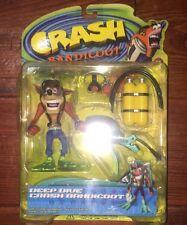 DEEP DIVE CRASH BANDICOOT Action Figure Series 2 Resaurus - New in Package
