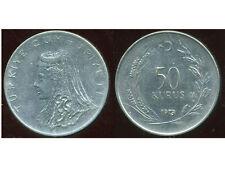 TURQUIE  50 kurus 1973  ( bis )