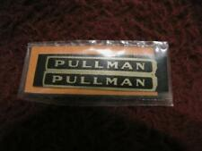 O AMERICAN FLYER DECAL - #5 PULLMAN STICKER 2-LINES - REPRO/NOS