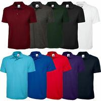 Uneek Unisex Polo Shirt, Active UC105  Work Wear Causal Top