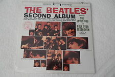 BEATLES__Original 2nd Album LP__Paste Over Cover__ST-2080 #18___SEALED___EX++