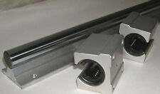 """CNC Supported Shaft 20mm 55"""" an 2 Bearing Special $99"""