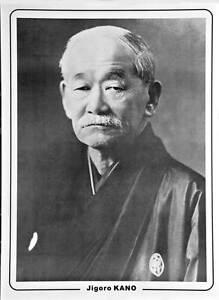 Poster Jigoro Kano, Judo NEU Ju-Sports, Judoposter, japanischer Budo-Sport