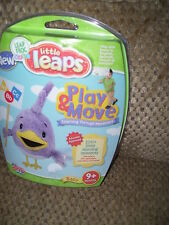 Leap Frog Little Leaps PLAY & MORE 9 + months Sealed in Package