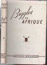 CAPTAIN W.E JOHNS # BIGGLES EN AFRIQUE # EO 1950
