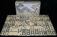 Nouveau double nine dominos classique domino set avec laiton spinners qualité hom
