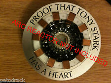 Iron Man Avengers Tony Stark ARC REACTOR PROOF RING V2 replica prop1/1 life size