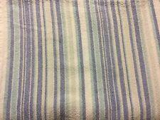 "Tablecloth 100% Cotton Blue & White Thin Striped Rectangle 62.5"" L x 46.5"" W"