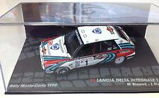 1:43 LANCIA DELTA INTEGRALE 16V RALLY MONTE CARLO 1990 BIASION MODEL CAR DIECAST