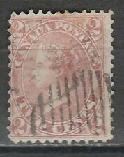 CANADA 1864 QV 2C USED