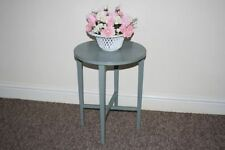 Solid Wood Side & End Tables with Drop Leaf