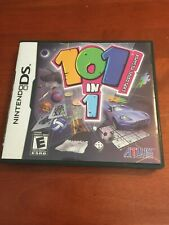 NINTENDO DS 101 IN 1 EXPLOSIVE MEGAMIX  COMPLETE WITH MANUEL