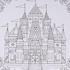 HOT Trendy Magic Enchanted Forest An Inky Quest Coloring Book Chinese Version LG