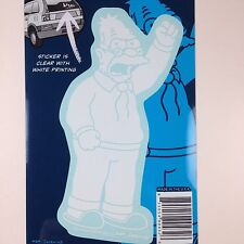 "The Simpsons Grandpa Abe Simpson Car Window Sticker Decal Family 5"""