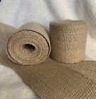 NATURAL JUTE UPHOLSTERY WEBBING- ROLLS ARE ALMOST 3 YARDS