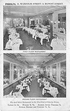 B76450 London UK Pinoli Restaurant Wardour Street Rupert