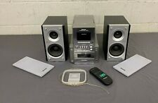 New listing Panasonic Sa-Pm17 Am/Fm Stereo 5-Cd Cassette Bi-Wired Compact Audio System Great