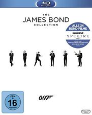 James Bond Collection 24 Filme inkl. Spectre Box Komplett [Blu-ray] NEU OVP