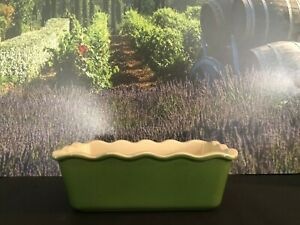 Emile Henry Williams-Sonoma Green Bread Loaf Pan