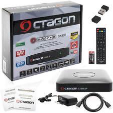 Octagon SX888 HD H.256 Full Stalker Multistream IPTV Receiver YOUTUBE +Wlan Stic