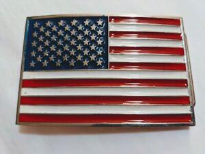 US1 USA FLAG United States belt buckle military army navy marines AF USA Seller