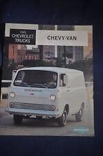 1965 Chevrolet Trucks Chevy Van Brochure