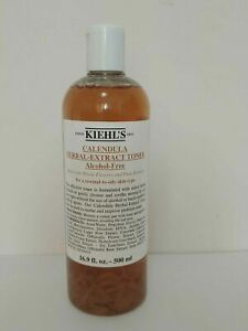 Kiehl's Calendula Herbal Extract Alcohol-Free Toner 16.9 Oz NEW & Sealed