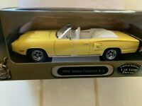 1:18 1970 Dodge Coronet R/T Yellow w/White Interior Limited 1 of 1250