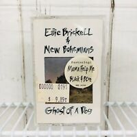 Edie Brickell Ghost of a dog sealed cassette hype sticker