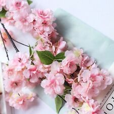 """4 Pink 40"""" tall Bushes with Silk Cherry Blossoms Flowers Party Wedding Bouquets"""