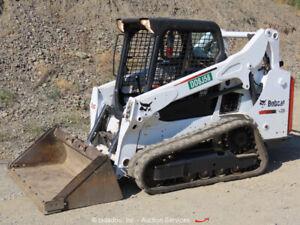 2016 Bobcat T590 Skid Steer Track Loader Crawler Aux Hyd Diesel bidadoo
