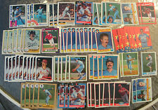 (77) Assorted Dan Quisenberry Trading Cards 1981-90 (18 different cards)