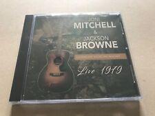 LIVE 1979  by JONI MITCHEL & JACKSON BROWNE  Compact Disc  1148172