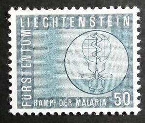 Liechtenstein (1962) Anti Malaria / Medical / Insects - Mint (MNH)
