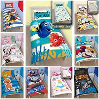 Kids Character & Disney Single Panel Bedding Duvet Covers Children Set Brand New