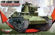 7 Luz de TP tanque (tarde) - (ejército polaco MKGS septiembre de 1939) #355001 1/35 Mirage