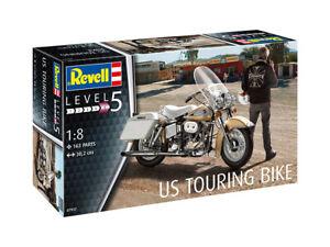 Revell #07937 1/8 US Touring Bike