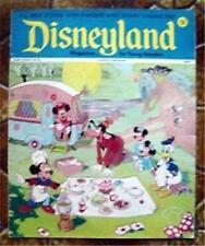 Disneyland Magazine # 52 Mickey & Minnie Mouse Donald Duck & Goofy Cover 1973