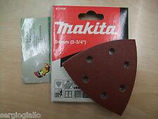 SET Carta Abrasiva Velcro Delta Makita B-21559 TM3000C TM3010C BTM DTM