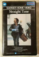 Straight Time VHS 1978 Crime Film Ulu Grosbard 1982 Warner Home Video Ex-Rental