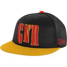Guns N Roses Men's GNR Hat Baseball Cap Adjustable Black