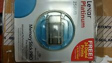 Lexar Platinum - 256MB Memory Stick Pro Duo BRAND NEW