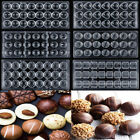 7 Style 3D Chocolate Molds Clear Polycarbonate Sugarcraft Cake Mould Tray Tools
