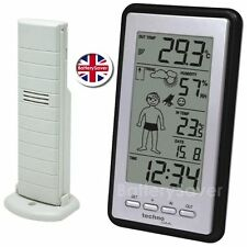 Technoline WS 9632-IT Weather Boy - Temperature Station - Radio Controlled Clock