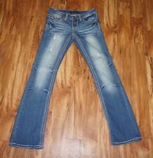 Rue 21 Twentyone Black Jeans 3/4 Regular. Womans,denim-distressed Jeans. Jewel