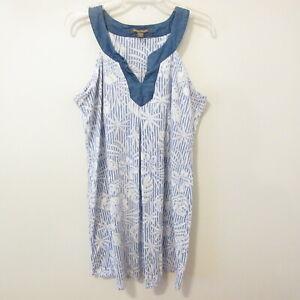 Tommy Bahama Women's XL/GT Cotton Blend Casual Cute Summer Beach Dress